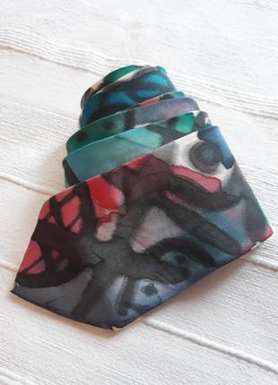 Prandell, оригинальный#дизайнерский#шелковый галстук#краватка, арт-дизайн.