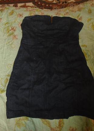 Супер платье из джинса