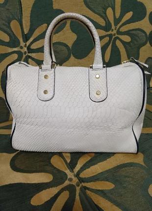 Шикарнейшая брендовая кожаная сумка fellini