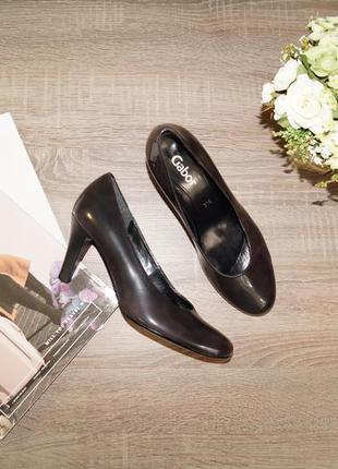 (36р./23,5см) gabor! красивые классические туфли
