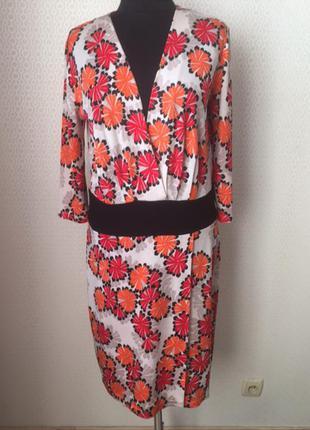 Яркое платье большого размера  (нем 42, укр 48-50) дорогого немецкого бренда laurel