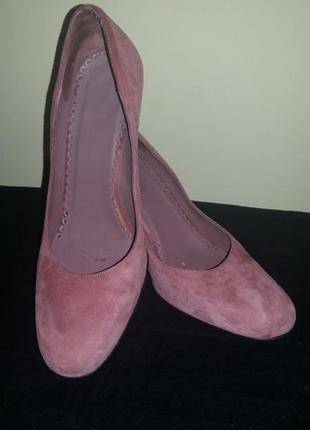 Испания, замшевые туфли unisa