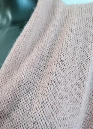 Легкий кардиган кофта из нежного мохера5 фото