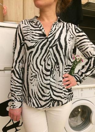 Стильна блуза сорочка від zara