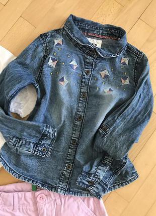 Topolino джинсова рубашка р116