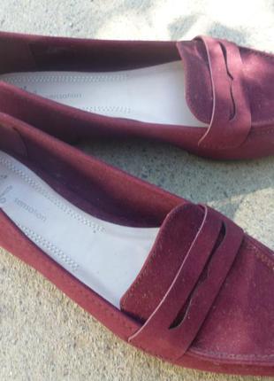 Удобные туфли - лоферы avon
