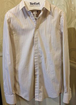 Приталенная рубашка в полоску, dolce & gabbana, размер s-m