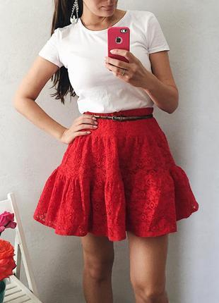 Классная пышная юбка на талию