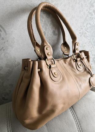 Кожаная летняя сумка debenhams
