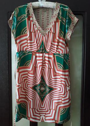Платье с цепями в стиле gucci