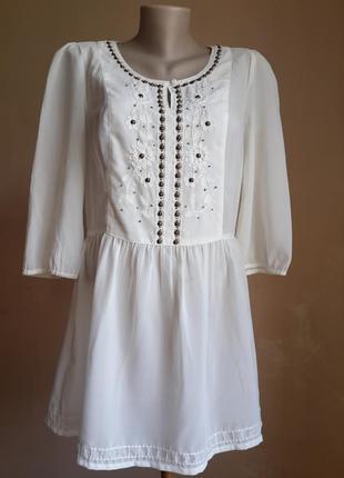 Красивая блуза вышивка tu британия