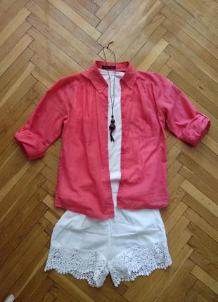 Рубашка рубашка на пуговицах рубашка на лето летняя рубашка