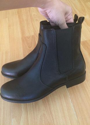 Челси ботинки осенние чёрные h&m