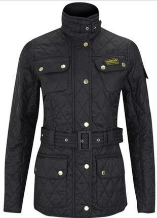 Barbour international стёганная куртка барбур