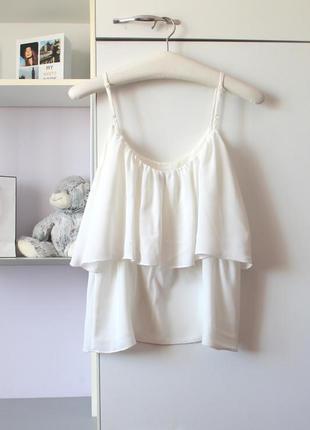 Молочная блуза от avant premiere