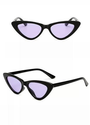 Очки с фиолетовыми стеклами2