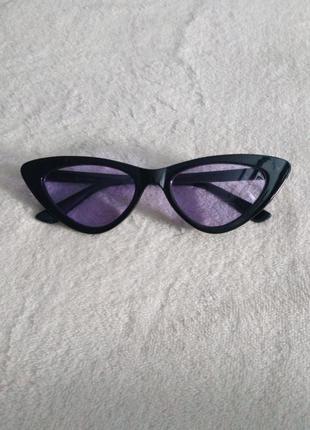 Очки с фиолетовыми стеклами1