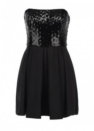 Чёрное платье kira plastinina