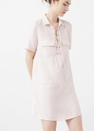 Легкое стильное платье mango