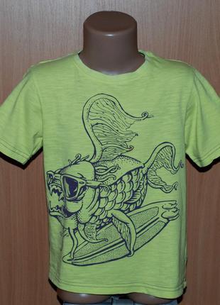 Хлопковая футболка от tu на мальчика.