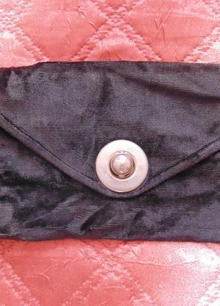 Клатч из ткани