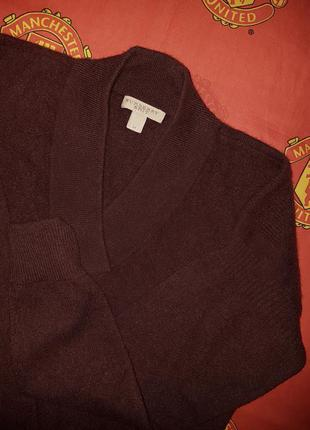 Burberry brit v-neck кашемировая кофточка