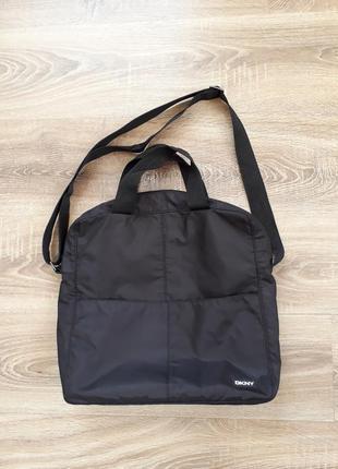 Городская сумка для ноутбука нейлон dkny