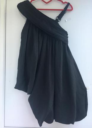 Креативное необычное платье сарафан асимметрия allsaints
