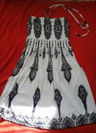 Воздушное платье -сарафанчик
