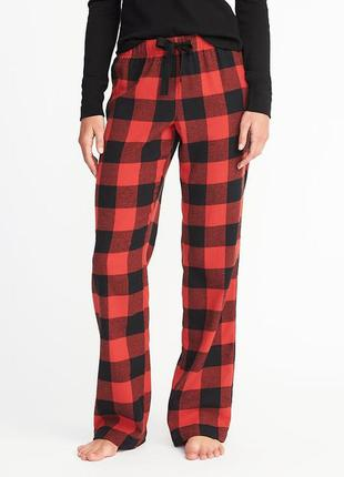 Женские фланелевые штаны xs s m l xl пижама домашние old navy сша