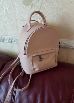 Кожаный рюкзак (италия)