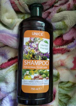 Шампунь herbal therapy для нормальних и сухих волос, 750 мл