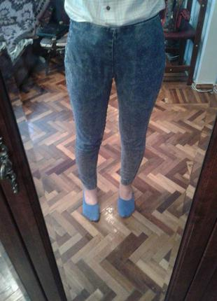 Продам ждеггинсы calliope размер s - джинсовые лосины