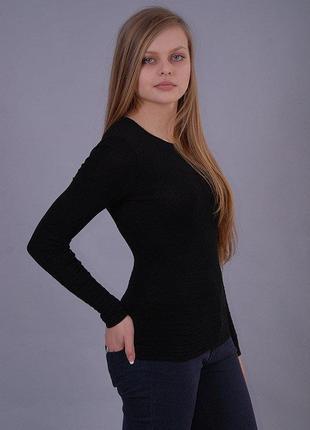 Стильный черный джемпер  bershka
