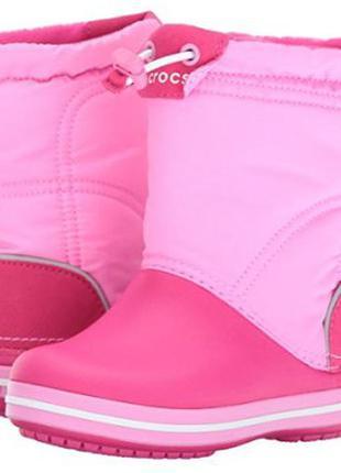 Зимние сапоги для девочек crocs, оригинал
