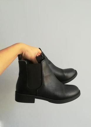 Ботинки челси h&m/идеальные базовые челси/демисезонные ботинки/весенние полусапожки