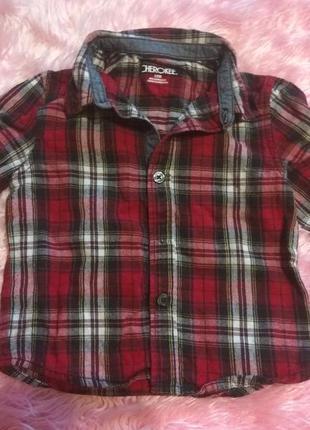 Классная рубашечка на 12м, cherokee