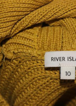 Стильний світер , кофта з переплетами на спині river island оверсайз4