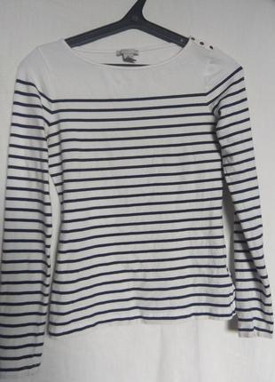 Классическая блузка в полоску