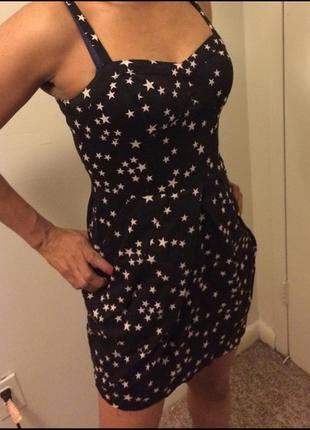 Сарафан платье в звезды h&m
