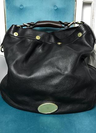 Кожаная сумка mulberry оригинал. цена снижена!
