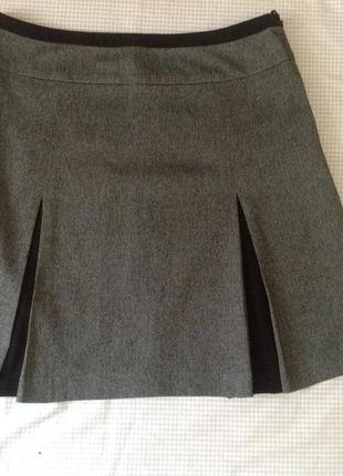 Серая юбка бренда next