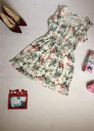 Яркое летнее платье с цветочным принтом xs object collectors item