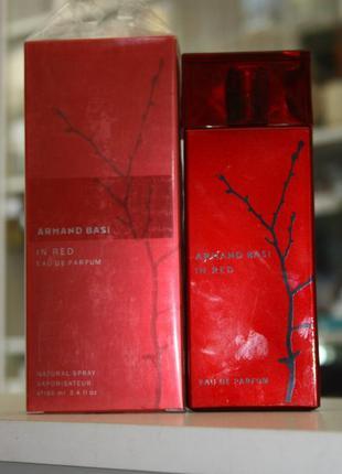 Armand basi in red eau de parfum (ж) - 100мл