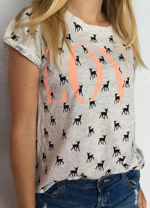 Крутая футболка pull&bear