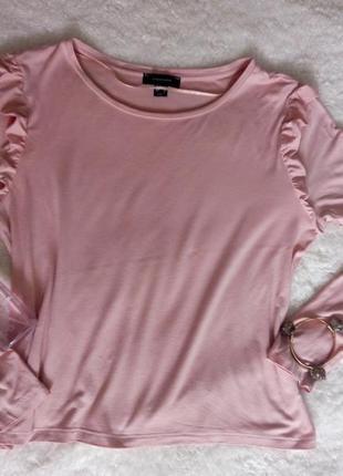 Базовая блузка цвета пыльной розы