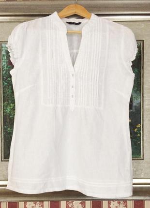 Белая рубашка f&f.