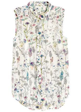 Блузка без рукавов h&m арт 0389535