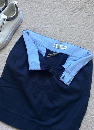 Очень стильная джинсовая юбочка