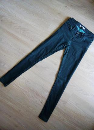 Узкие зауженные темно зеленые джинсы мави скинни skinny mavi